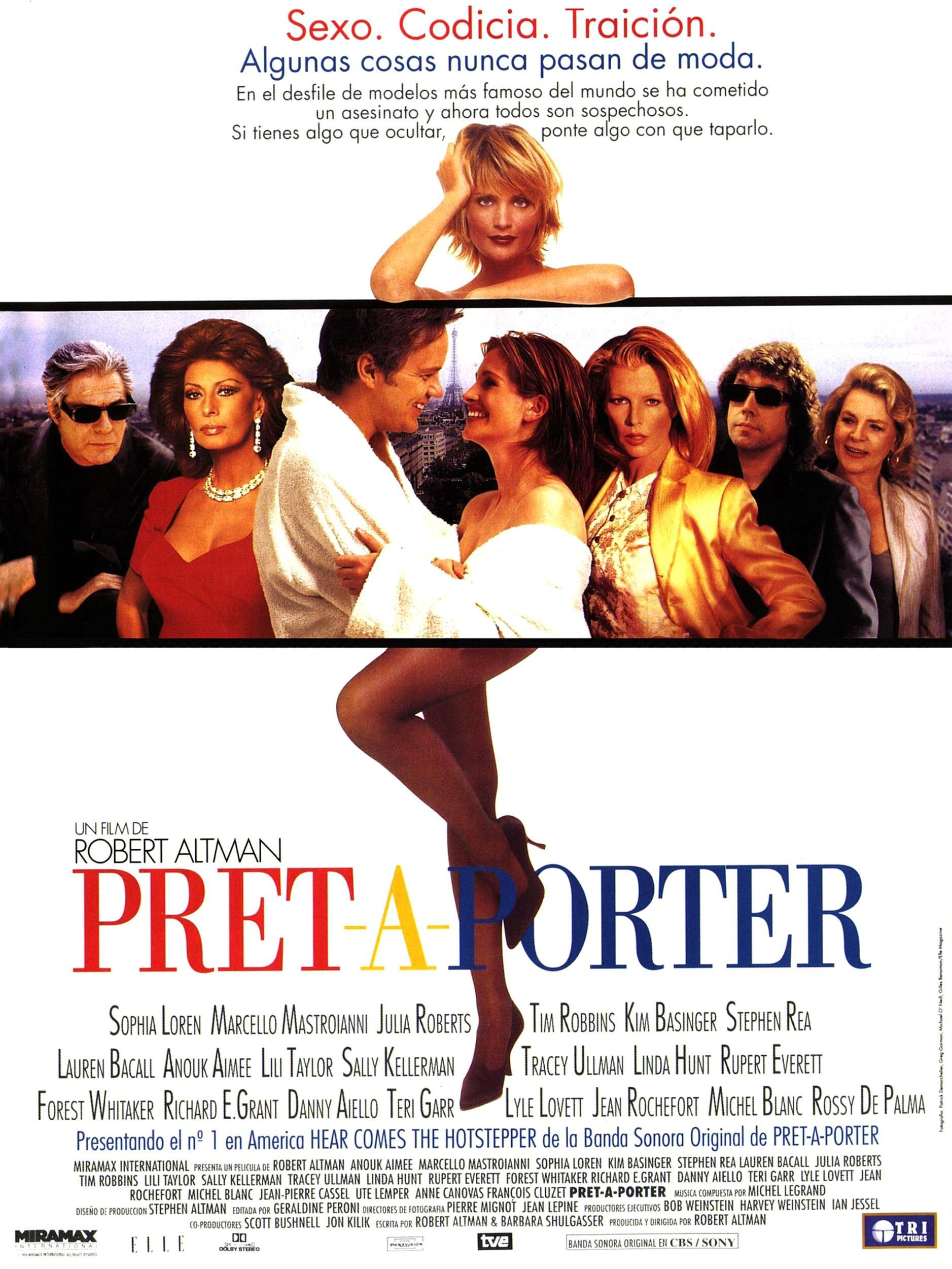Robert altman 39 s pret a porter what to watch for Pret a porter uk