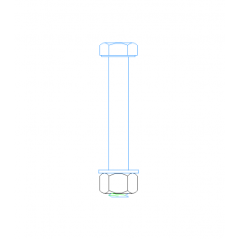Anchor bolts dynamic blocks | Free 2D CAD blocks | Cad