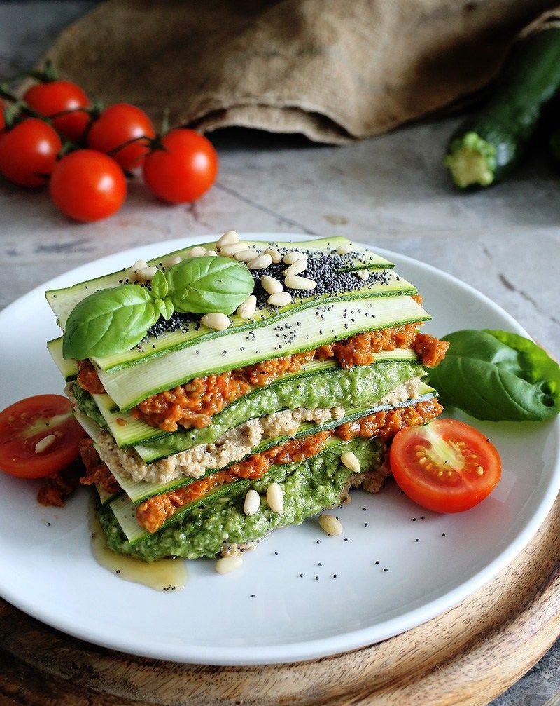 Raw Vegan Lasagne Recipe Raw vegan recipes, Raw food