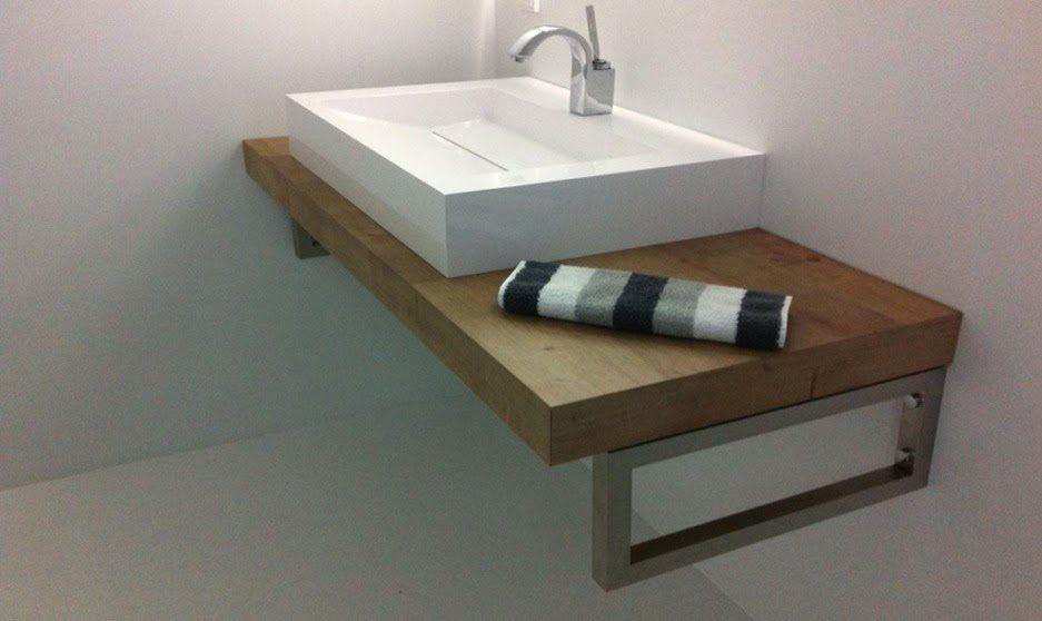 Alternative Waschtischkonsole, Konsolenträger, Bad, Waschtisch - badezimmer waschbecken mit unterschrank