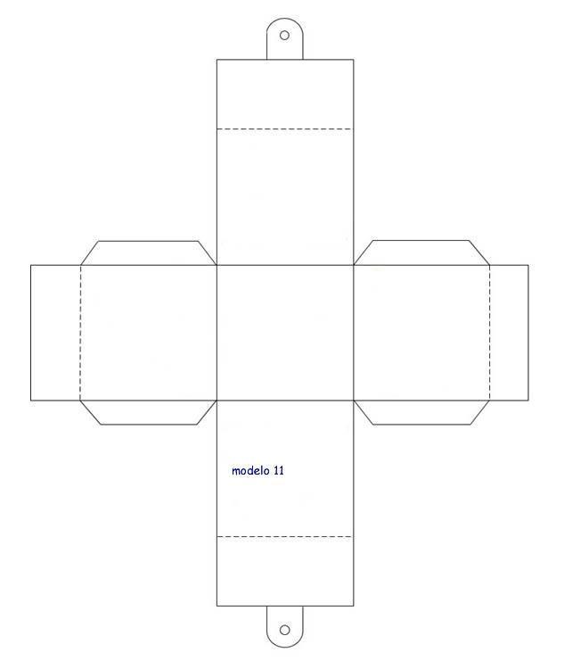caja cuadrada party favor ideas pinterest box diy paper and