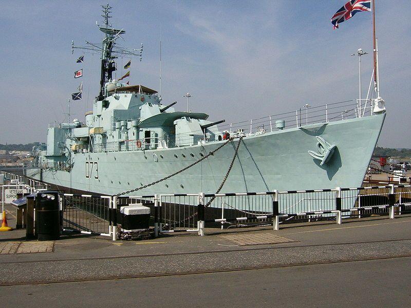 Hms Cavalier R73 Royal Navy Ships Chatham Dockyard British Navy Ships
