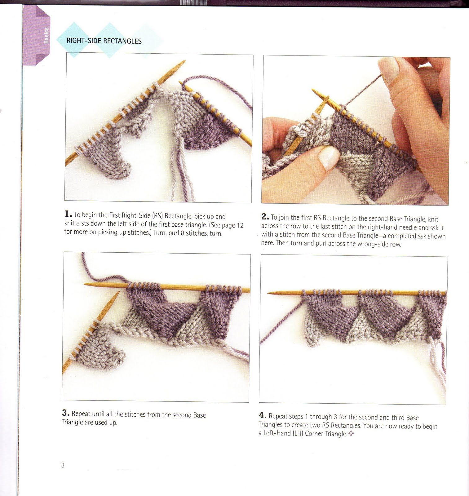 What is Entrelac knitting? How to Entrelac Knitting - Knitting ...