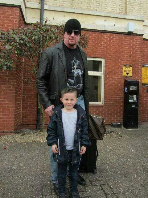 Undertaker with his So...