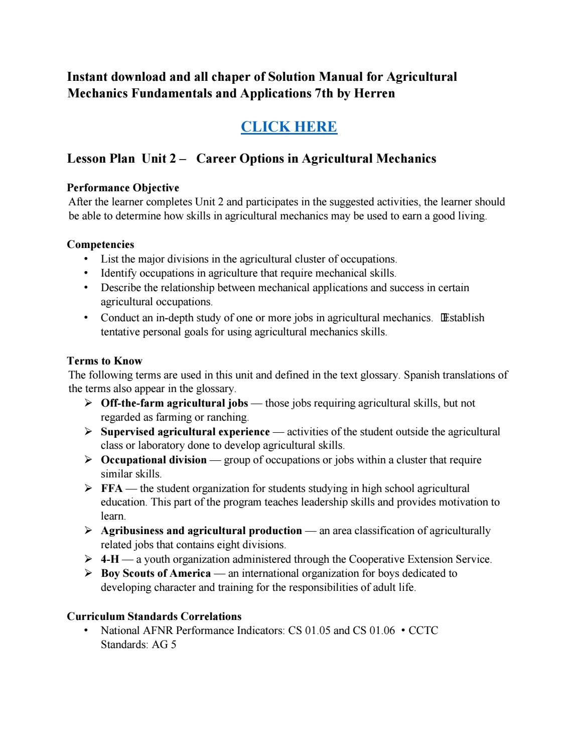 ... Array - download solution manual for agricultural mechanics  fundamentals and rh pinterest com