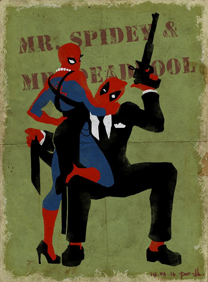 🖤 Spiderman Meme Pointing At Each Other - 2021