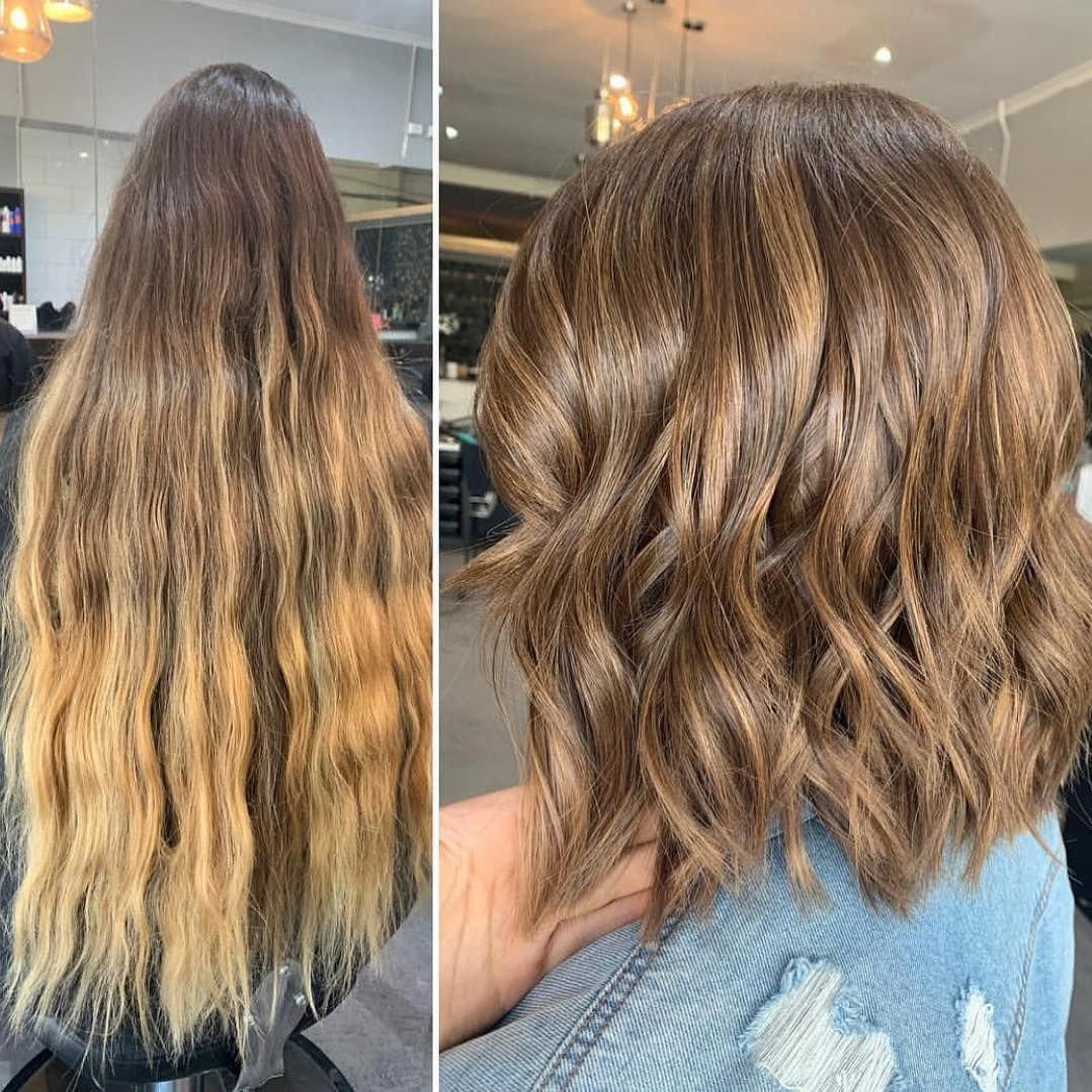 110 Before After Short Hair Photos Long To Short Hair Transformations In 2020 Long To Short Hair Hair Transformation Short Wavy Haircuts