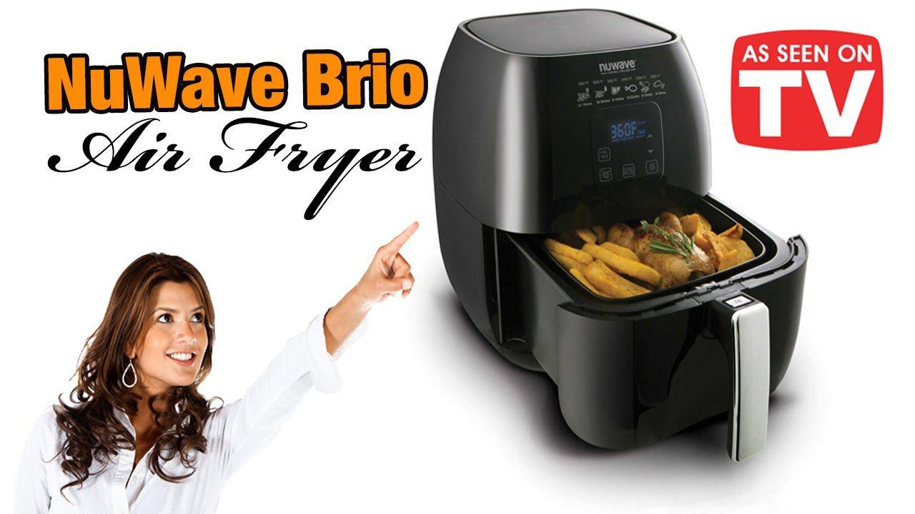 Nuwave Brio Air Fryer As Seen On Tv Nuwave Air Fryer Air Fryer Recipes