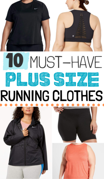 Don't let your curves stop you from being a top athlete! These plus size running clothes will get yo...