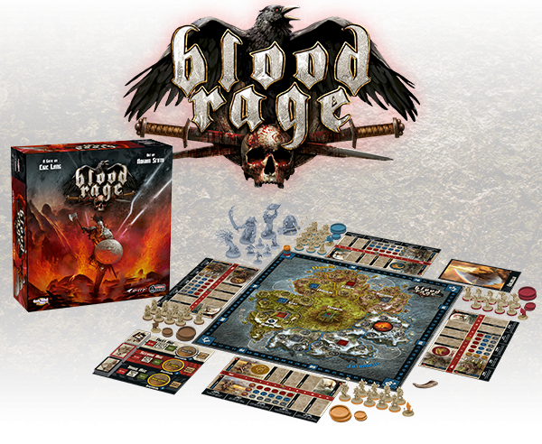 Image result for blood rage game board