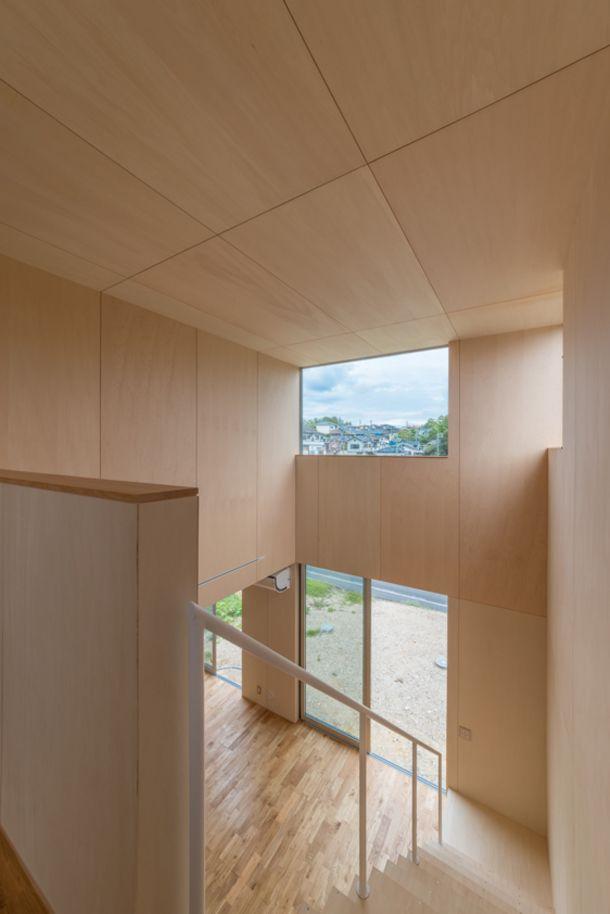 ガルバリウム鋼鈑に覆われた家 間取り 愛知県瀬戸市 注文住宅