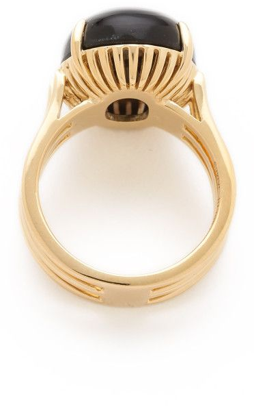 ... Elizabeth And James Berlin Oval Cabochon Ring in Gold ...