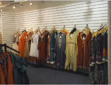 Slatwall board clothing display: A simple yet effective ...