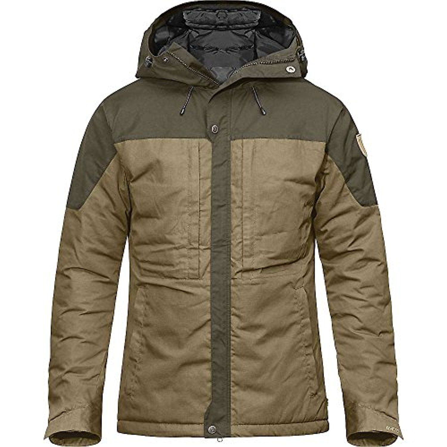 Fjallraven Skogso Padded Jacket - Men's Sand / Tarmac Large -- Awesome products selected by Anna Churchill