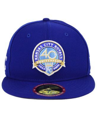 69c2ff33a New Era Kansas City Royals Ultimate Patch Collection Front 59FIFTY Fitted  Cap - Blue 7 1/2