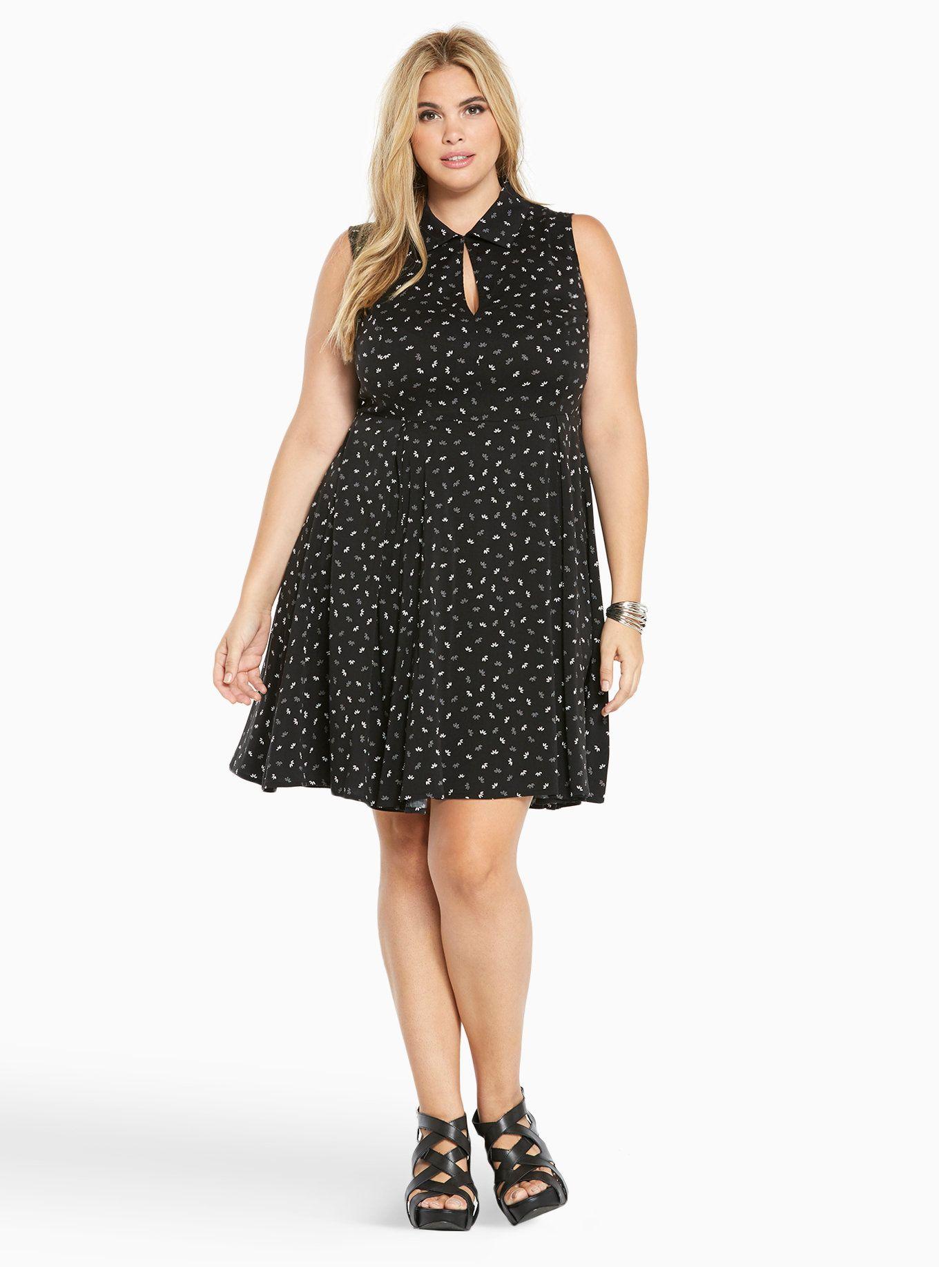 Dress size 24 torrid dress 24 torrid black and white draped v neck - Floral Print Challis Shirt Dress Torrid