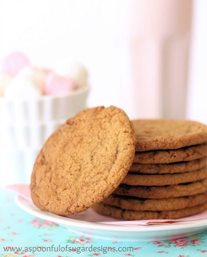 Brown Sugar and Cinnamon Cookies Recipe | Yummly #cinnamonsugarcookies