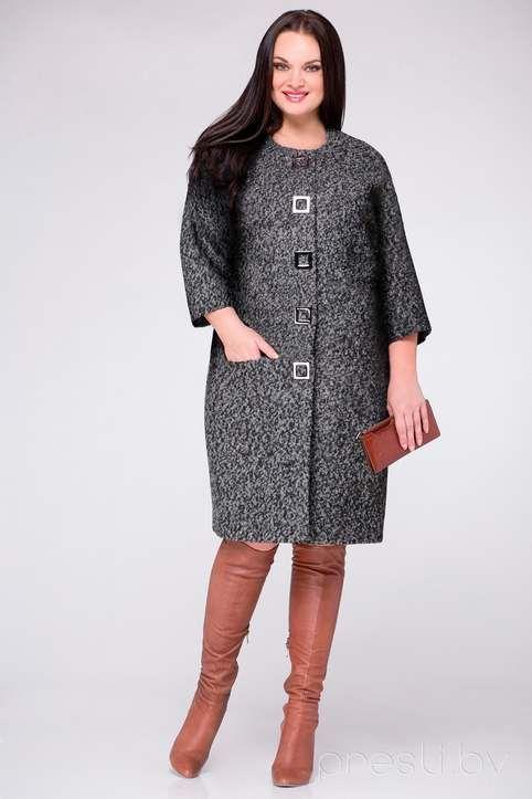 1bacd3e816b Пальто для полных женщин ведущих белорусских марок