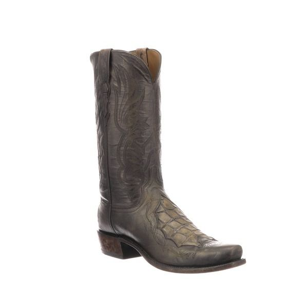 65c7d4fba0f Bynum with Giant Gator inlay | Lucchese - since 1883 | Men's Boots ...