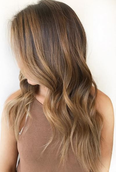 Trendy Hair Color Ideas 2017 2018 Natural Light Brown Hair Color