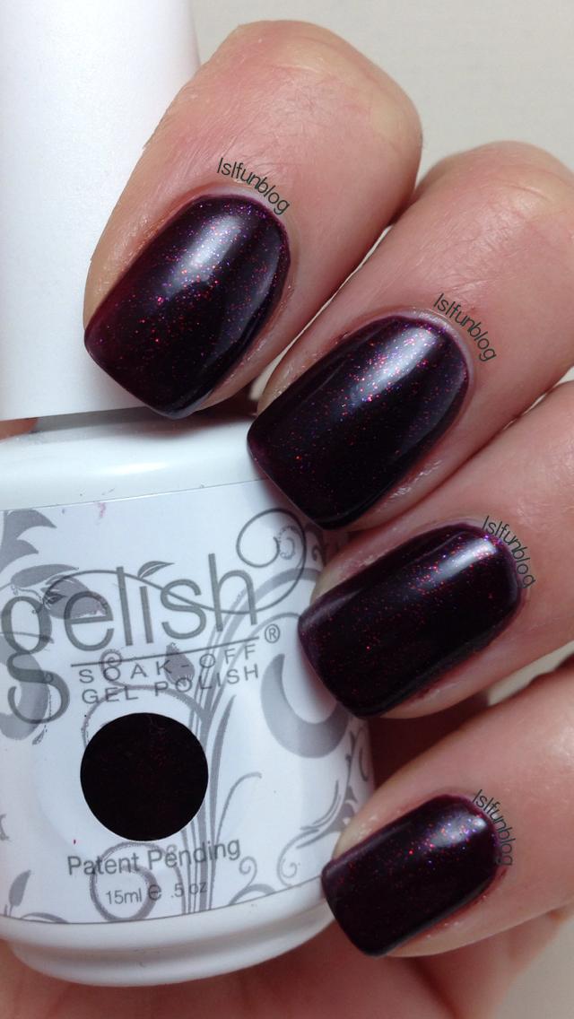 Gelish Berry Merry Holidays Manicure #gelish #berry #merry #holidays ...