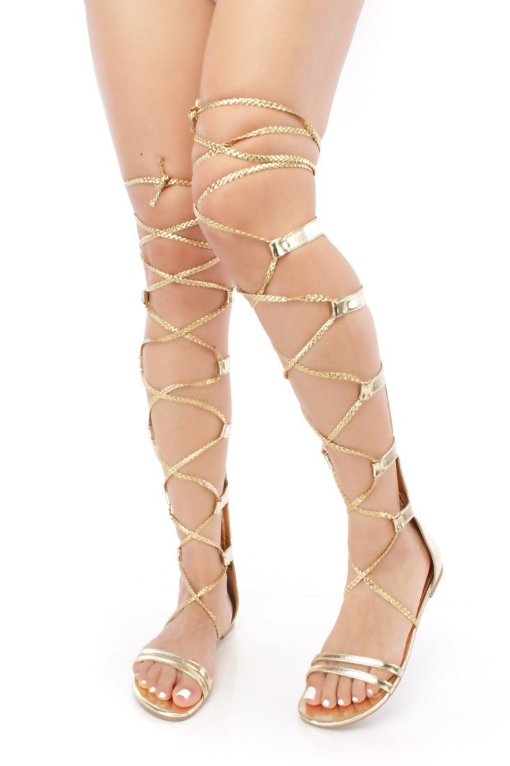 39ddfe94cb68f This adorable gladiator sandals are cute to match with your favorite dress.  This sandals will make your outfit stand more out than ever! Featuring