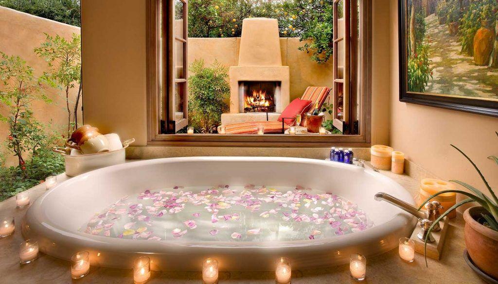 Arredamento Romantico ~ Vuoi sapere come arredare il tuo bagno in modo romantico e