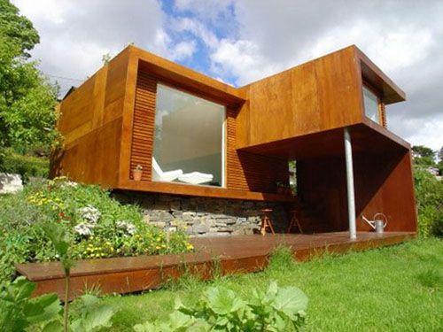 Minicasa madera 500 375 mini casas sobre - Casas de madera pequenas ...