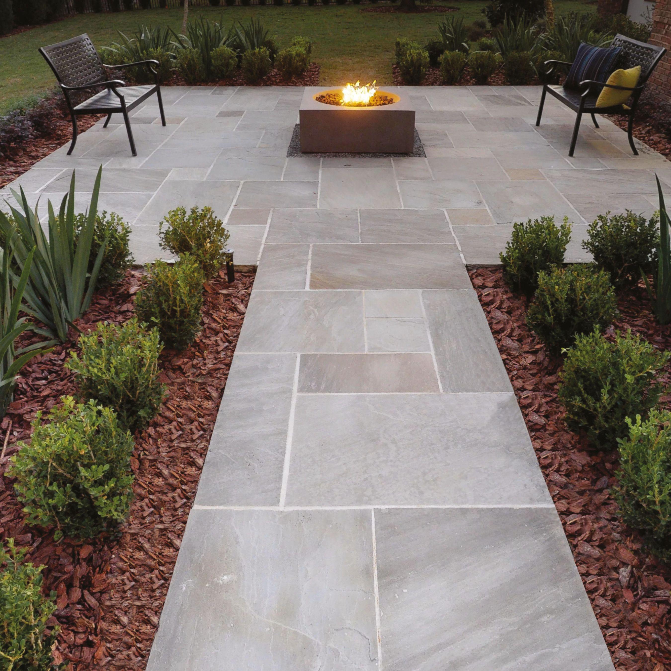 Natural Paving Classicstone Kandla Promenade Paving Slabs Garden Paving Outdoor Gardens Design Stone Landscaping