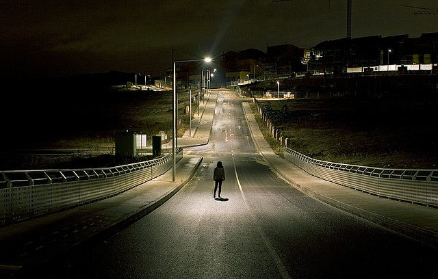 Road Night Aesthetic Writing Inspiration Photography