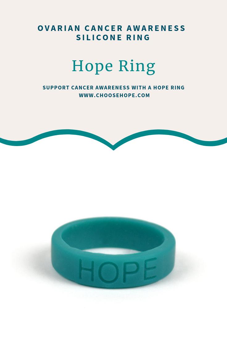 Pin On Ovarian Cancer Awareness Teal Cancer Ribbon