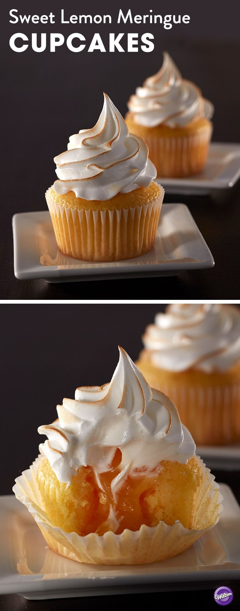 wedding cake cupcakes using mix these sweet lemon meringue cupcakes are a taste of 22302
