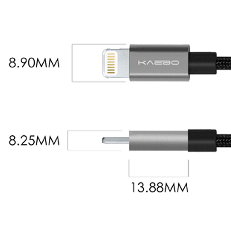 Kaebo Black Lighting Cable Gray Tip Pack Of 3 Cable Lighting Black Light Cable