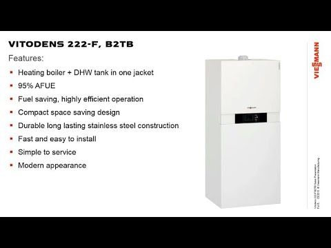 Introduction To Vitodens 222 F Heating Boilers Locker Storage How To Introduce Yourself