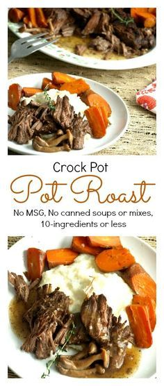 Slow Cooker Pot Roast Recipe Pot Roast Crock Pot And Crock
