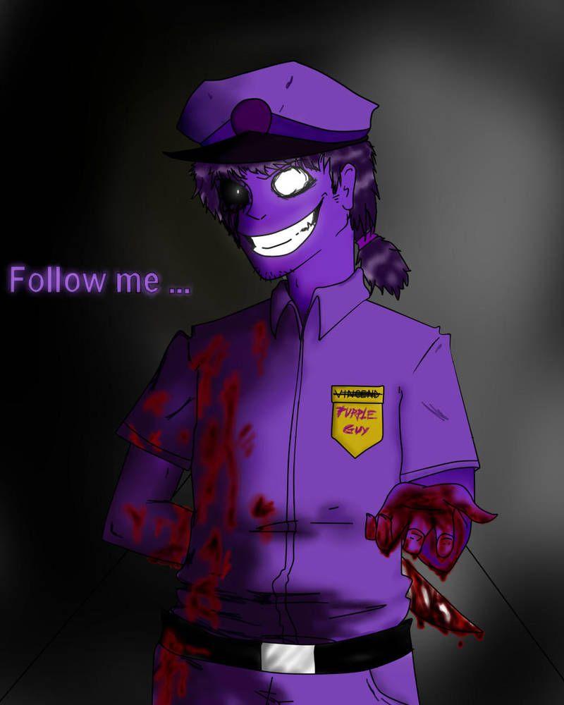 Fnaf Purple Guy By Blaziepanda Purple Guy Vincent Fnaf Fnaf Wallpapers