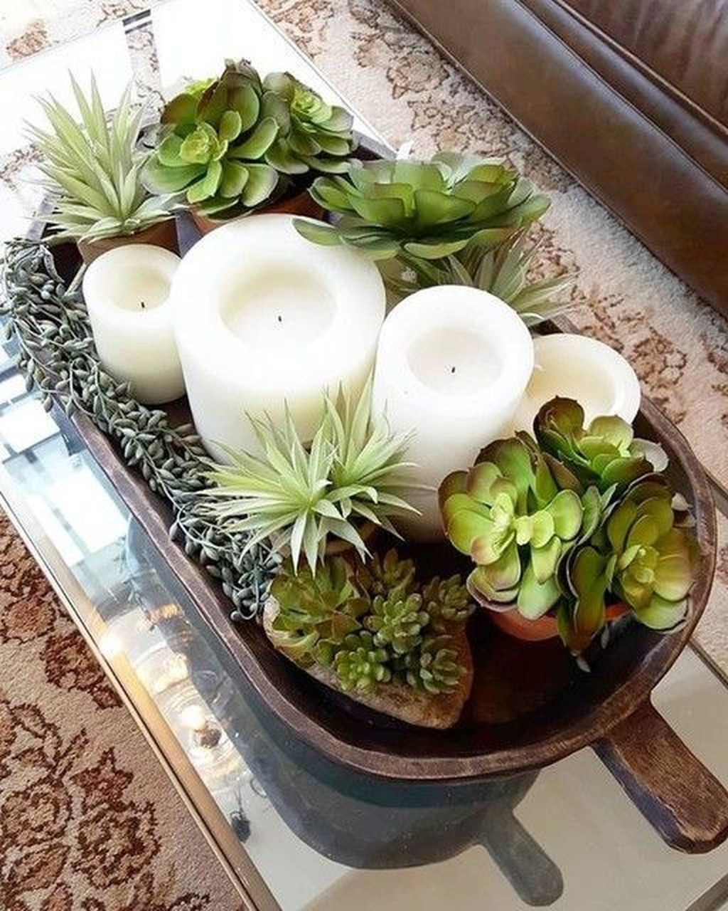 33 Lovely Summer Centerpieces For Home Decoration Summer Brings A Table Centerpieces For Home Candle Centerpieces For Home Succulent Centerpiece Dining Room