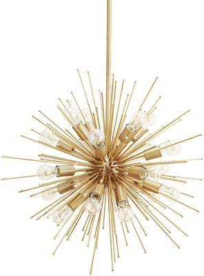 Exploding Star Brass Pendant Lamp | Lighting | Pinterest | Pendant ...