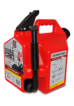 2 Gallon Gasoline Surecan Gas Can Gas Cans Fuel Gas Jerry Can