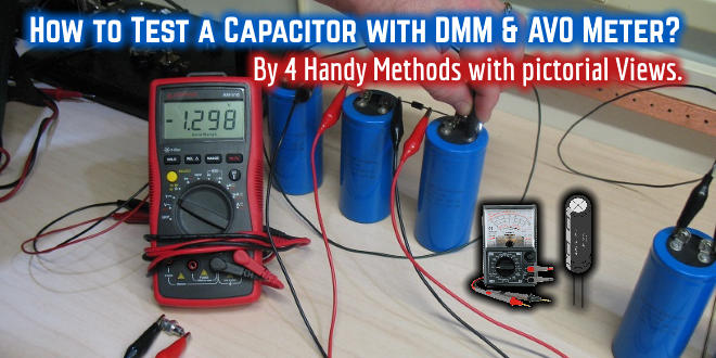How to test check a capacitor with digital multimeter for How to test a motor start capacitor
