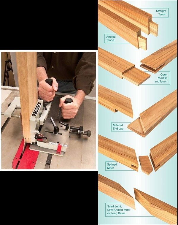 This remarkable jig cuts all these tenons with exquisite precision.. More Woodworking Projects on www.woodworkerz.com