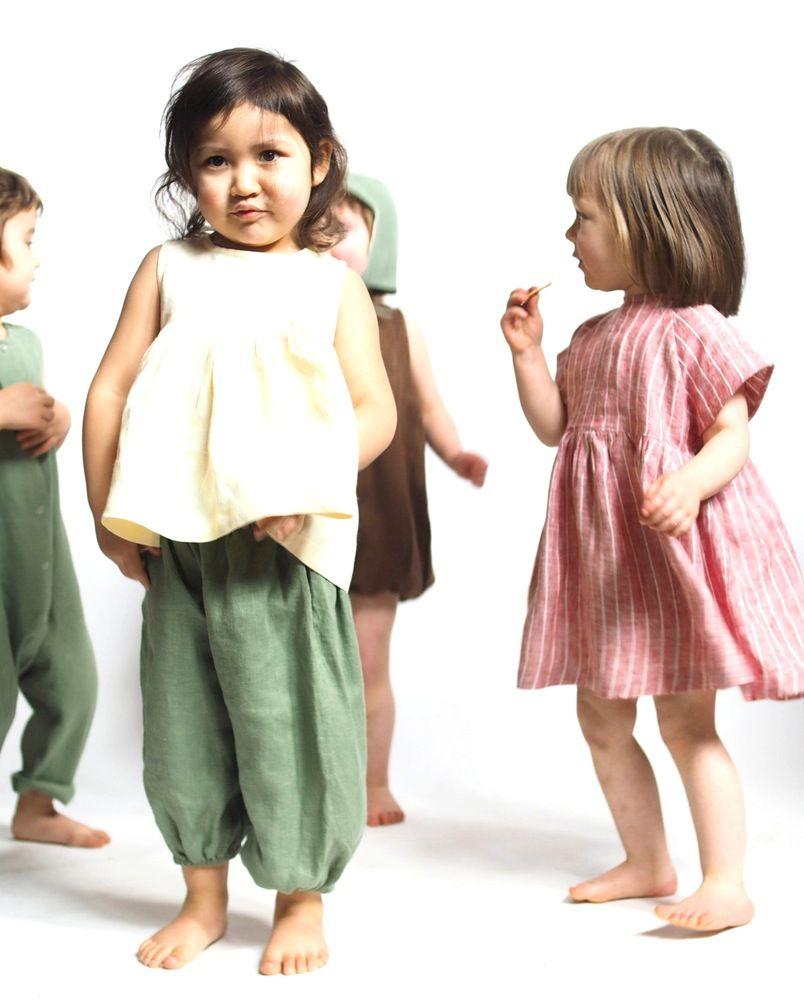 5a9ac38e6 Garden Shirt Dress / RED CREEK KIDS | kids clothes | Linen shirt ...