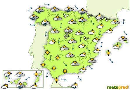 Ms de 25 ideas increbles sobre Mapa meteorologico en Pinterest