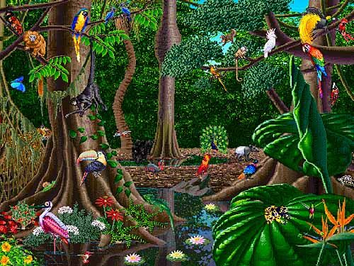 Rainforest Cafe Project