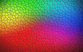 Mosaiikki, Tausta, Materiaalikuvio