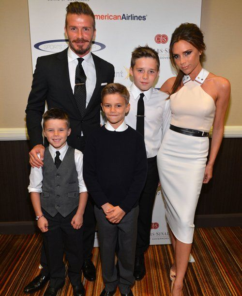 Most Pampered Celebrity Kids Mom Me David And Victoria Beckham The Beckham Family Victoria Beckham Pictures