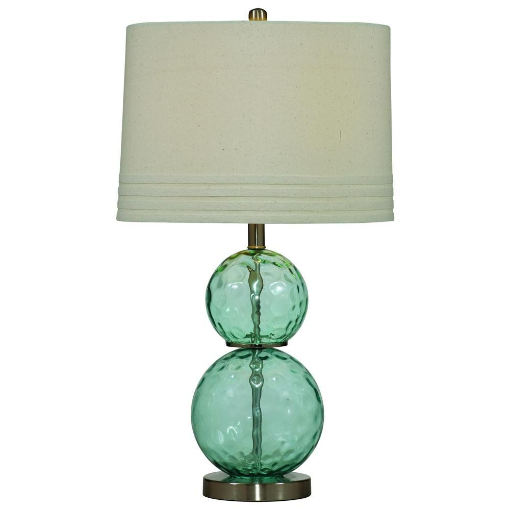Blue glass table lamps  Barika Blue Dimple Glass Table Lamp  Bassett Mirror  Pinterest