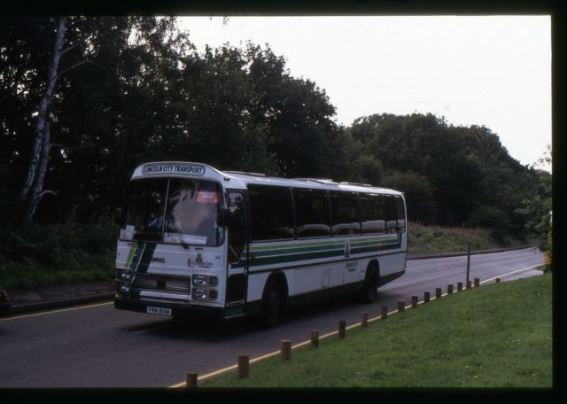 Original Bus Slide Lincoln City Transport Tiger FRN801W at Sherwood Forest 08.92 | eBay