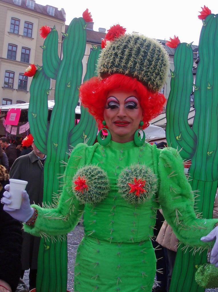 servus m nchen fasching dienstag cactus fashion cabaretz pinterest costumes halloween. Black Bedroom Furniture Sets. Home Design Ideas
