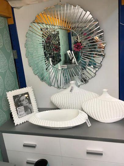 centros jarrones entradas espejos tonos blancos y plata en virginia